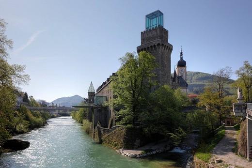 Rothschild Castle, Waidhofen an der Ybbs, Mostviertel, Lower Austria, Austria, Europe : Stock Photo