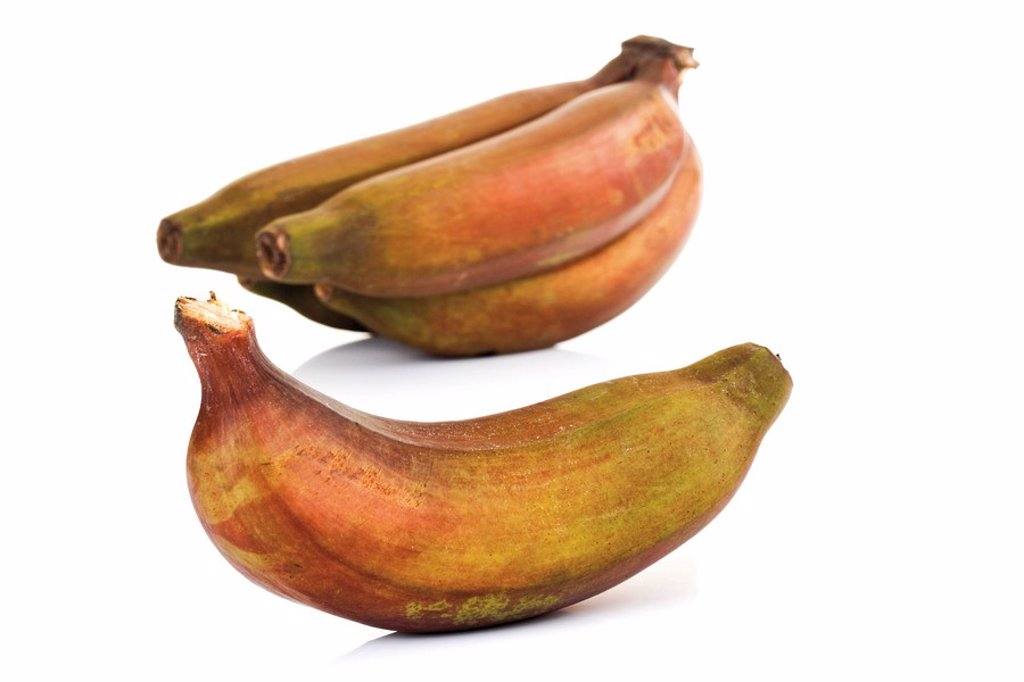 Red bananas : Stock Photo