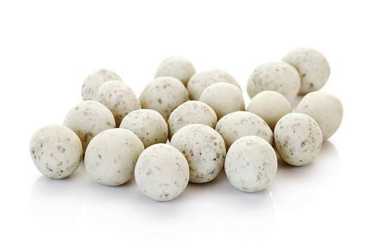 Marzipan eggs : Stock Photo