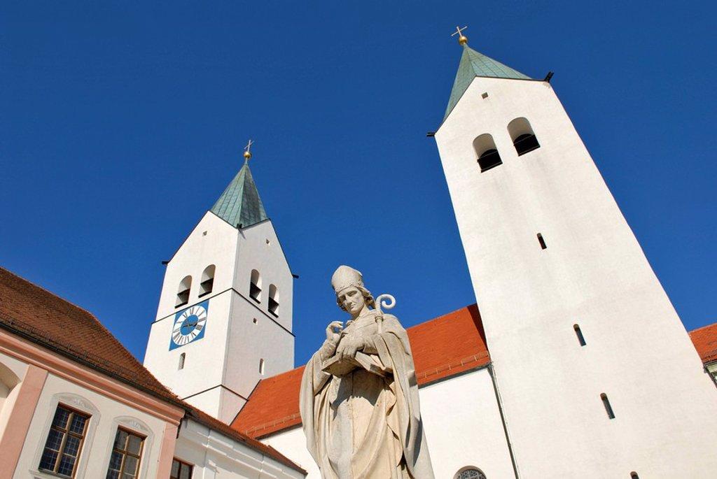 Stock Photo: 1848R-298165 Freising cathedral, Freising, Bavaria, Germany
