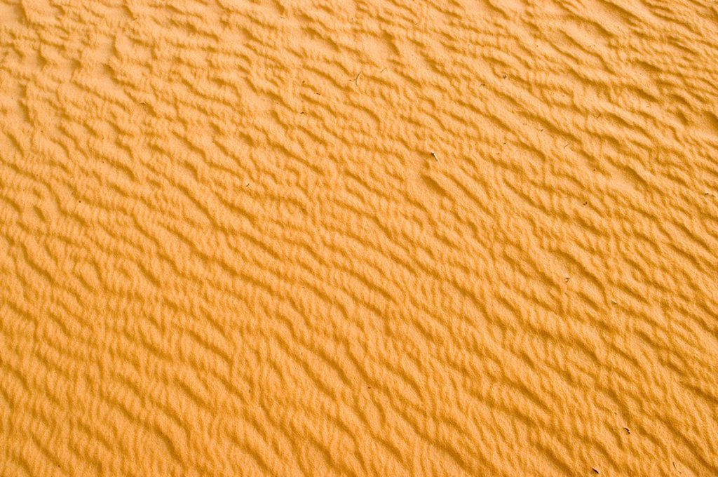 Sand structure in the sahara, Libya : Stock Photo