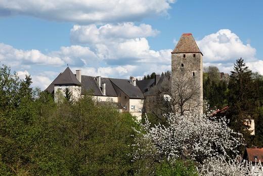 Vichtenstein castle, Innviertel, Upper Austria, Austria, Europe : Stock Photo
