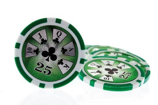 Stock Photo: 1848R-299612 Poker chips