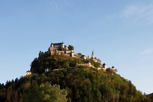 Hochosterwitz Castle, Carinthia, Austria, Europe : Stock Photo