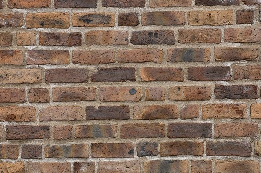 Stock Photo: 1848R-301076 Rustic brick wall