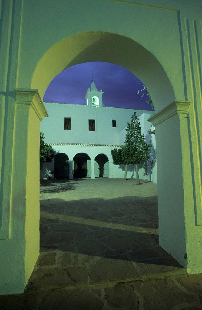 Church of Sant Miquel de Balansat : Stock Photo