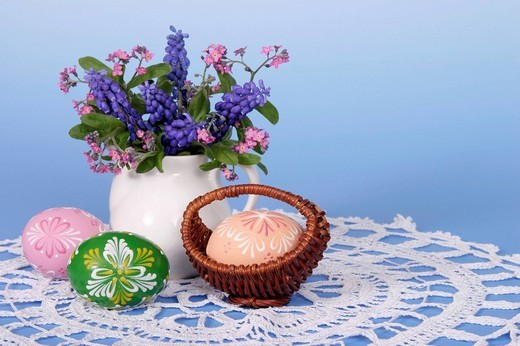 Stock Photo: 1848R-305973 Easter setting