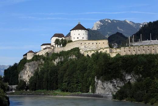 Stock Photo: 1848R-306262 Kufstein Fortress, Inn, Tyrol, Austria, Europe