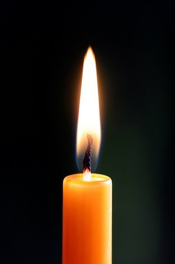 Candle flame : Stock Photo