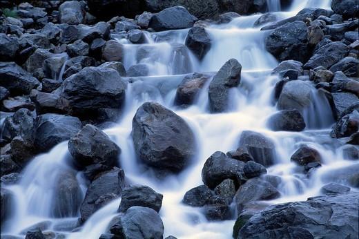 Stock Photo: 1848R-313150 Sulzaubach Stream, Stubaital valley, North Tyrol, Austria, Europe