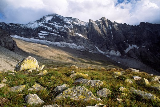 Stock Photo: 1848R-313261 Schrammacher, Sagzahn, Sagwand, Zillertal Alps, North Tirol, Austria, Europe