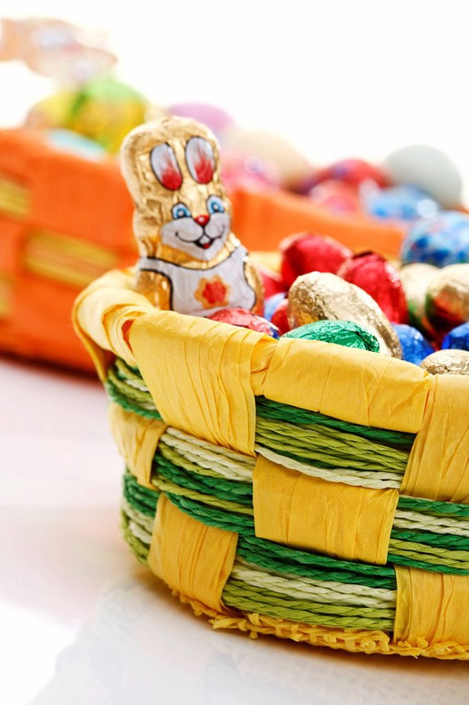 Easter baskets : Stock Photo