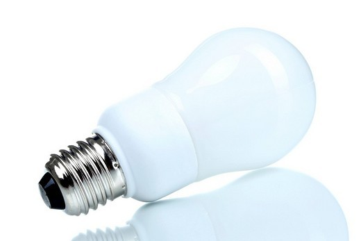 Energy saving bulb : Stock Photo