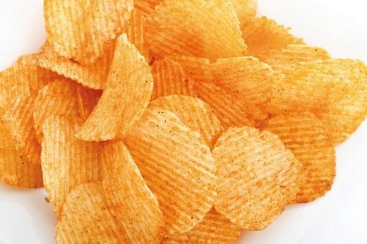 Chili chips : Stock Photo