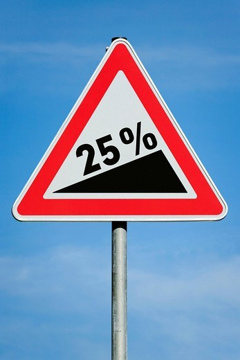 25 profit tax dividend gain increase gradient - symbolic picture - series : Stock Photo