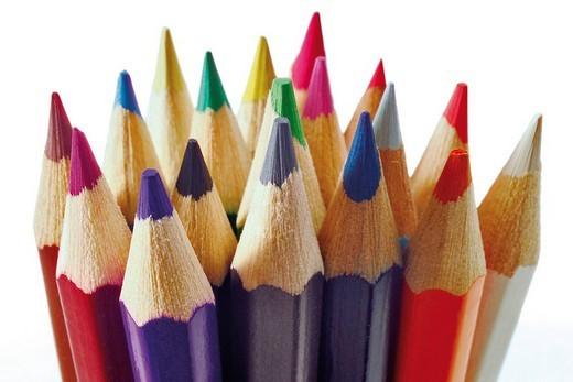 Stock Photo: 1848R-325342 Pencil crayons