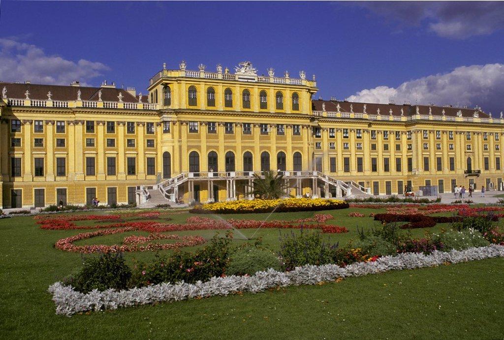Castle Schönbrunn - Vienna - Austria : Stock Photo