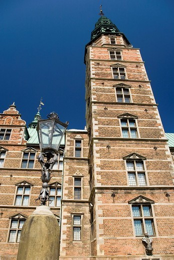 Rosenborg Castle in Copenhagen, Denmark, Europe : Stock Photo