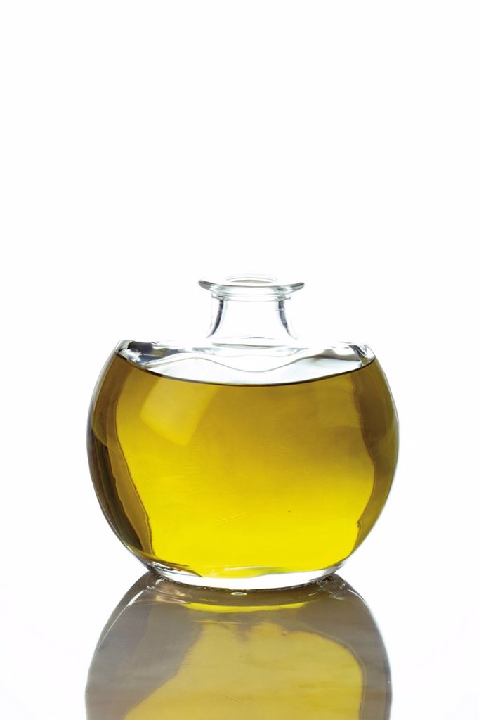 Bottle of olive oil : Stock Photo