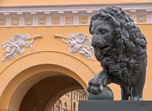 GUS Russia St  Petersburg 300 years old Venice of the North the Admirality at the Neva founded in 1707 and built by Architect Andrejan Sacharow from 1806 to 1819 Memorial for all Russian Heros on Ships and Sea and Peter the Great Founder of St Petersburg : Stock Photo