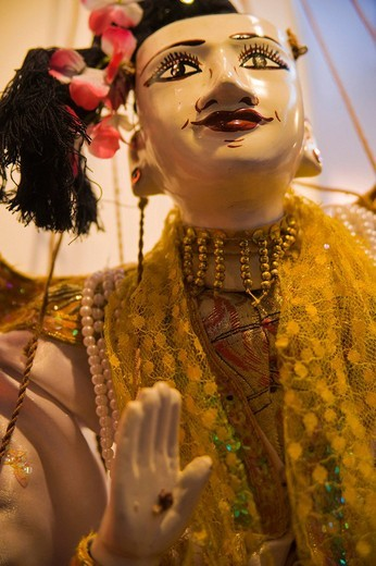 Marionette from Yamanai wood, Myanmar, South East Asia : Stock Photo