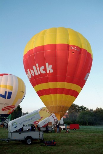 Balloon festival 2 9 05 - 4 9 05 in bienenbuettel : Stock Photo