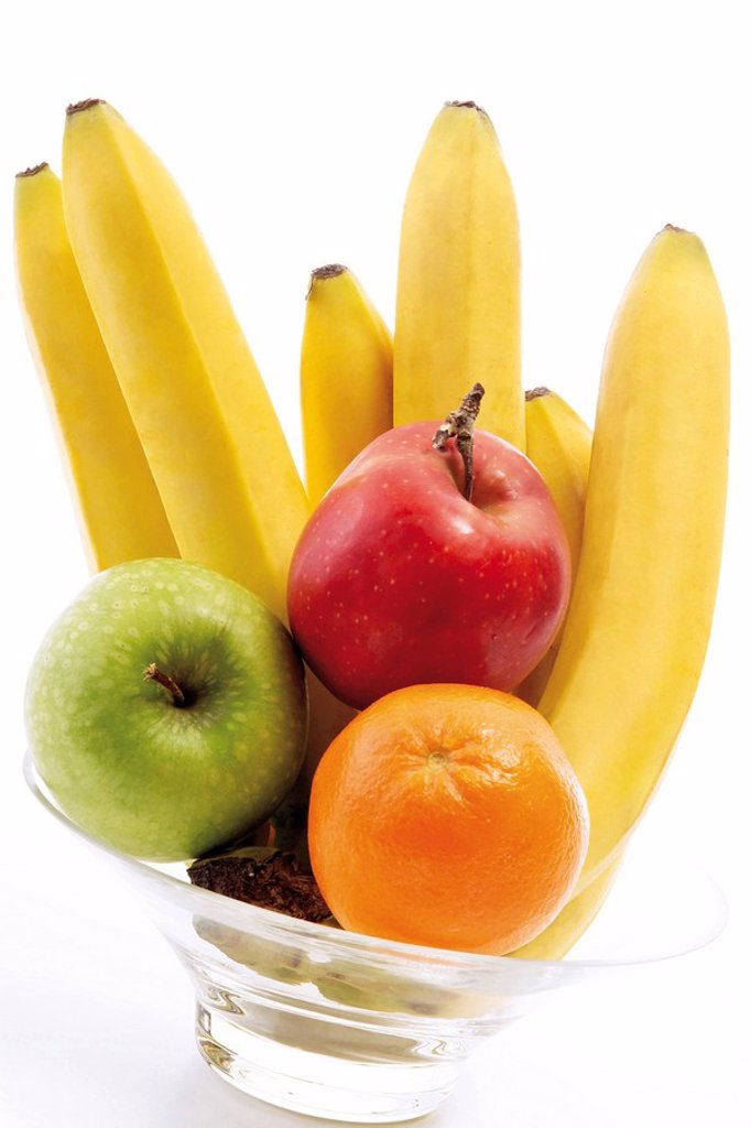 Different kinds of fruit : Stock Photo