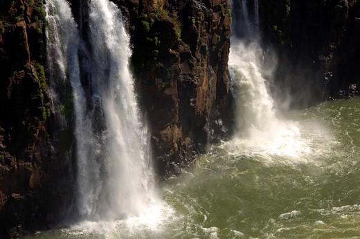 Iguazu Waterfalls Argentina Brazil : Stock Photo