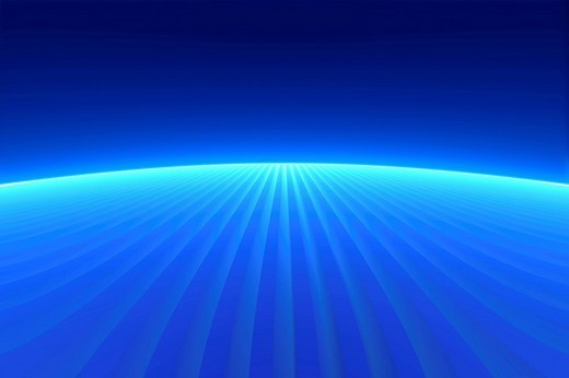 Blue abstract background, 3D illustration : Stock Photo