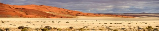 Dunes near Sesriem in the Namib_Naukluft National Park, Namibia, Africa : Stock Photo