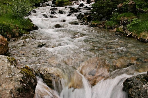 Stock Photo: 1848R-336029 Mountain stream