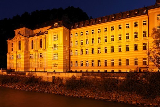 Stock Photo: 1848R-337476 State Conservatory, Feldkirch, Vorarlberg, Austria, Europe