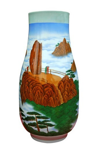 Chinese Porcelain Vase : Stock Photo