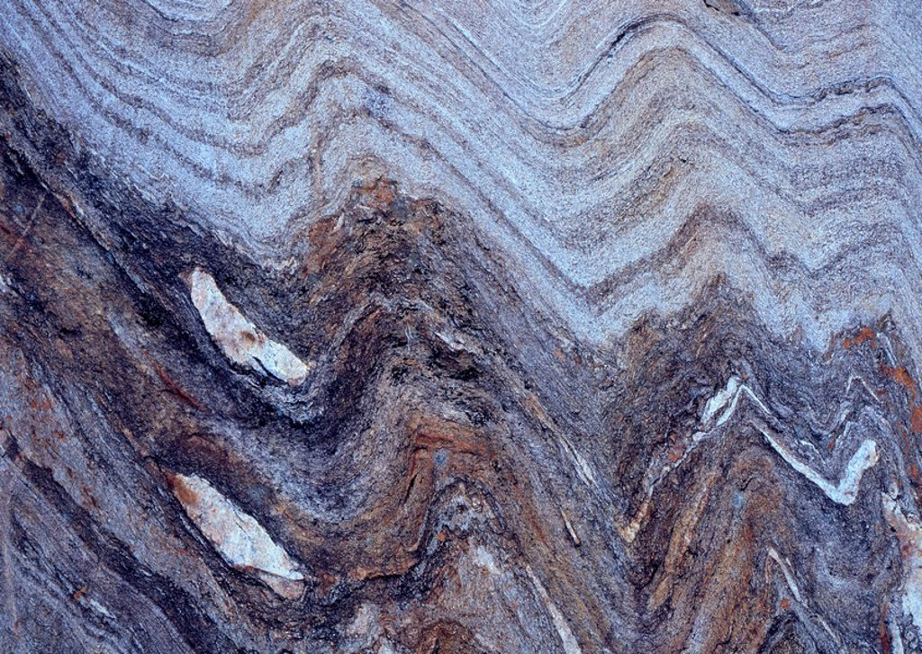 Stock Photo: 1848R-340139 Textured, layered rock surface, Tirol, Austria
