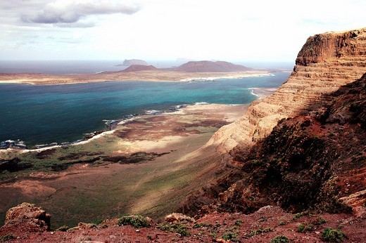 Mirador de Guinate, Lanzarote, Canary Islands, Spain : Stock Photo