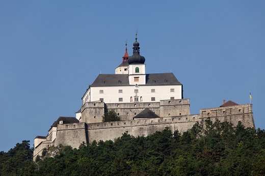 Burg Forchtenstein castle, Burgenland, Austria, Europe : Stock Photo