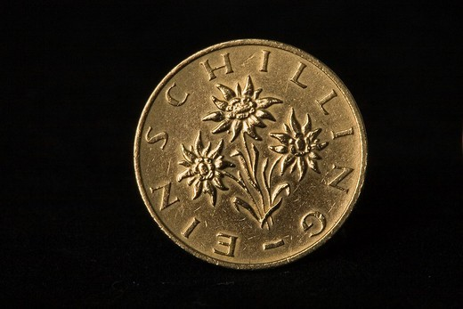 Stock Photo: 1848R-347812 Old coin