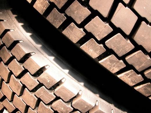 Stock Photo: 1848R-351317 Car tire