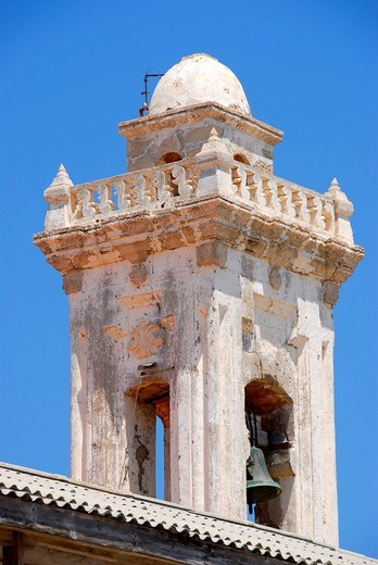 Stock Photo: 1848R-353222 Tower of Andreas monastery Moni Apostolou Andrea North Cyprus