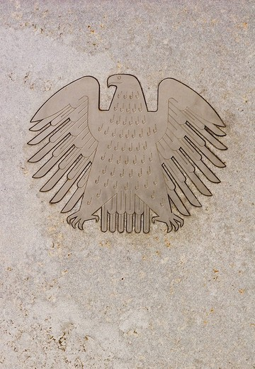 Federal eagle, Germany : Stock Photo