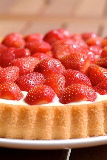 Strawberrycake : Stock Photo