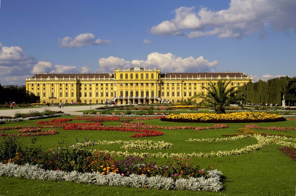 Castle Schönbrunn - Vienna - Austria : Stock Photo