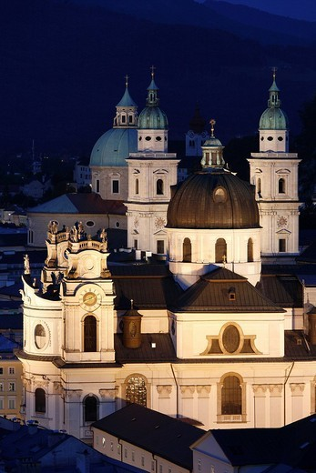 Kollegienkirche Church and cathedral, Salzburg, Austria, Europe : Stock Photo