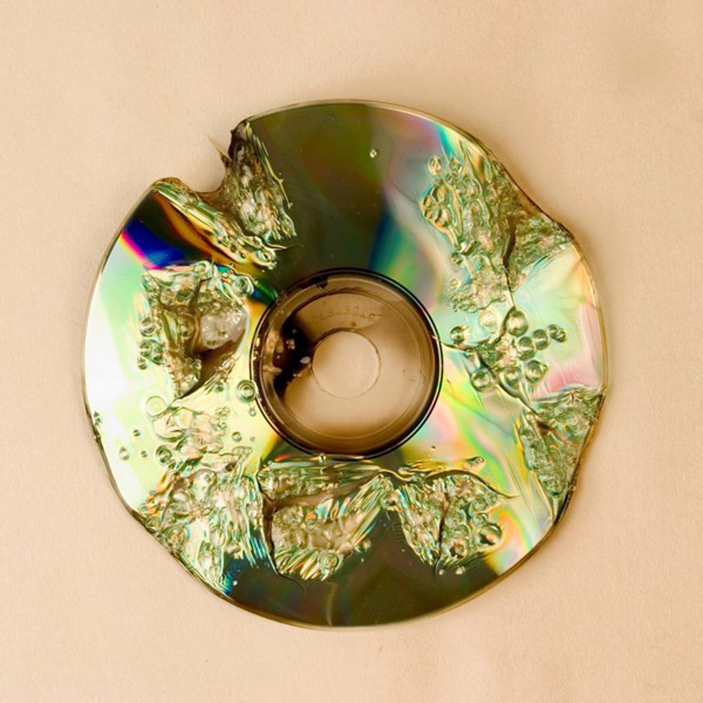 Burning cd : Stock Photo