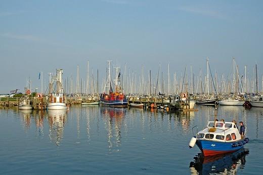 Port in maasholm : Stock Photo