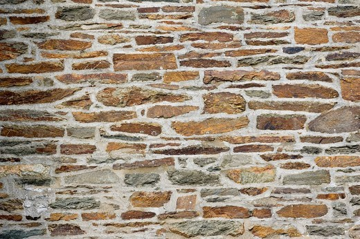 Stock Photo: 1848R-364814 Natural stone cottage wall