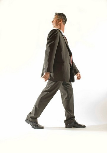 Stock Photo: 1848R-368003 Businessman with turned head