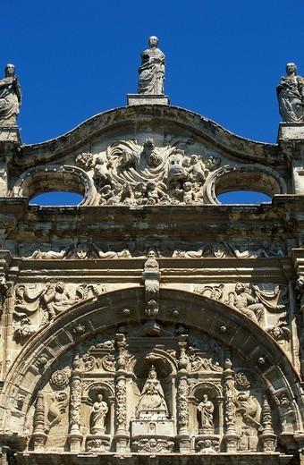 Stock Photo: 1848R-371421 Mayor Prioral Church, El Puerto de Santa María, Costa de la Luz, Cádiz Province, Andalusia, Spain