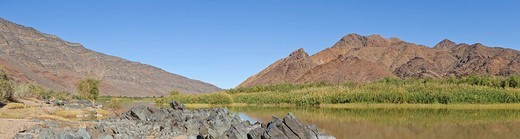 Orange River, Namibia, Africa : Stock Photo