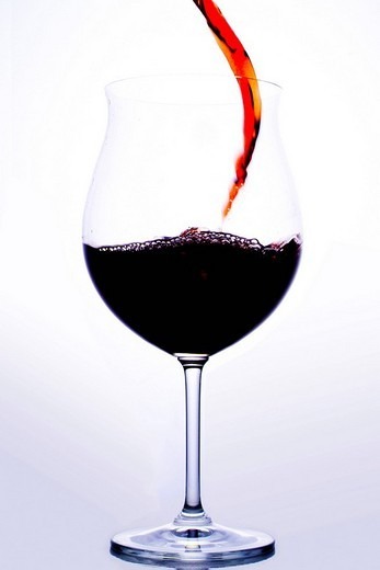 Stock Photo: 1848R-372958 Pouring red wine
